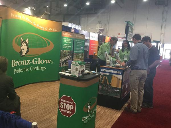 Bronz-Glow attends 2017 AHR Expo in Las Vegas.