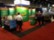 Bronz-Glow booth at AHR Expo 2016 Orlando