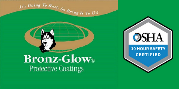 Bronz-Glow employees are OSHA 10 Hour Safety Certified.