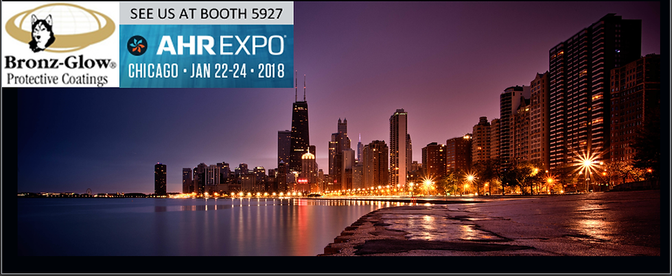 Bronz-Glow will be at the AHR Expo in Chicago January 22-24 in boot 5927.