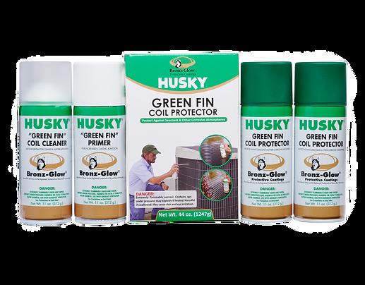Husky Green Fin Protector Kit
