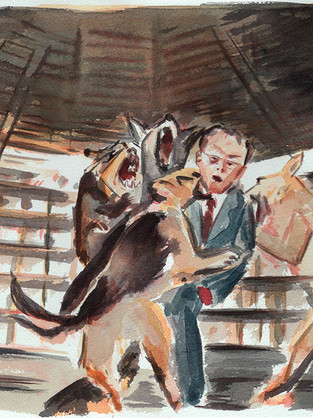 KIM'S UNCLE EATEN ALIVE BY DOGS