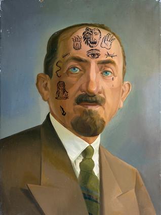 Lifestory on Ackerman painting