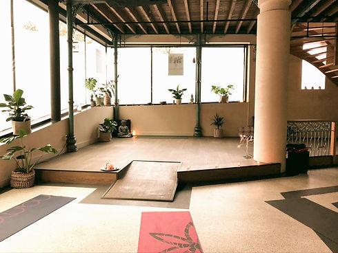 Yoga studio station Breda