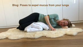 Poses to expel mucus from your lungs