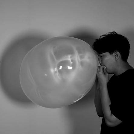 blow up myself