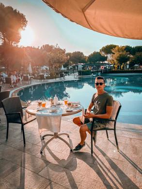 Damian Zwardoń Gloria Golf Turcja Turkey