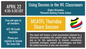 MCATFL April Share Session