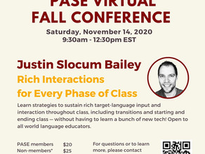 Registration is open for our Fall Conference!