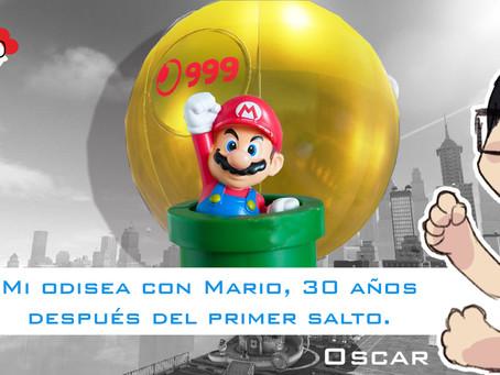 Mi odisea con Mario, 30 años después del primer salto.