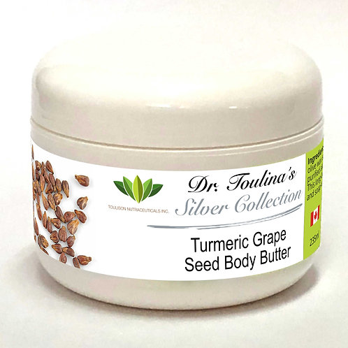 Turmeric Grape Seed Body Butter