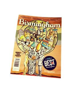 Birmingham Magazine cover