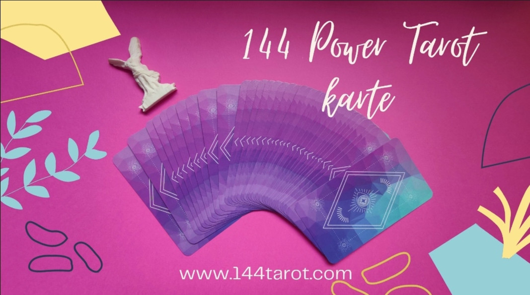 144 POWER TAROT KARTE