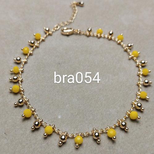 Bracelet Acier PERLES DOUBLE