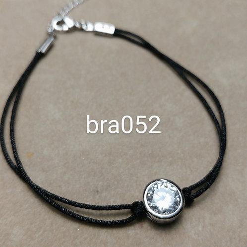 Bracelet Acier STRASS silver