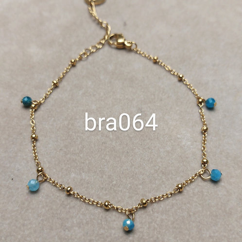 Bracelet Acier PERLES SOLO