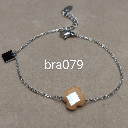 Bracelet Acier TREFLE