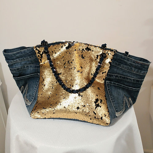 Cabas Jean's Sequins OR