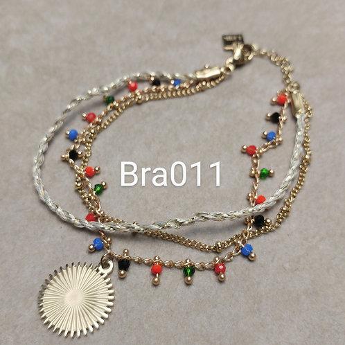 Bracelet Acier 3 rangs RADIAN