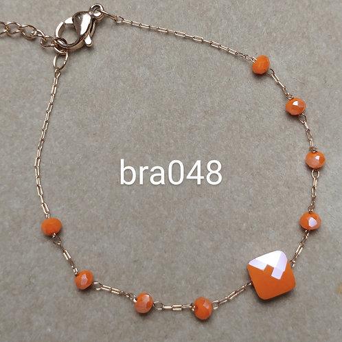 Bracelet Acier CARRE FACETE