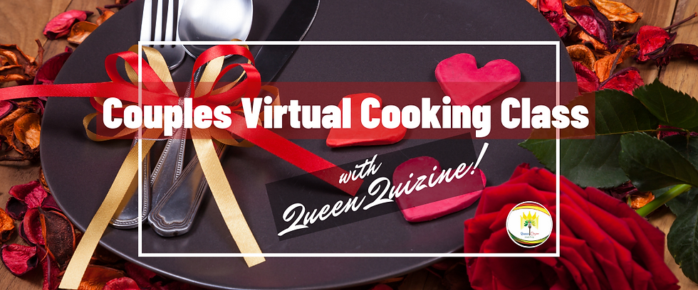 Couples Virtual Cooking Class with QQ lo