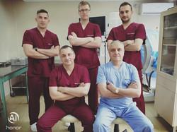 Лекарски колектив Унивеситетска клиника