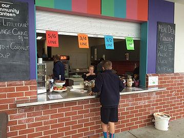 Bentleigh West canteen