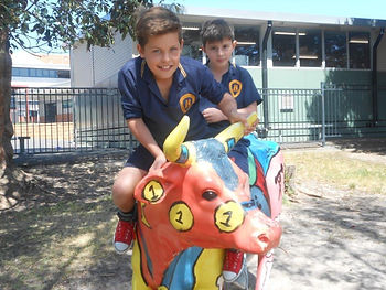 Bentleigh West primary students