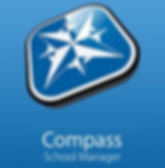 Compass logo, links to Compass application