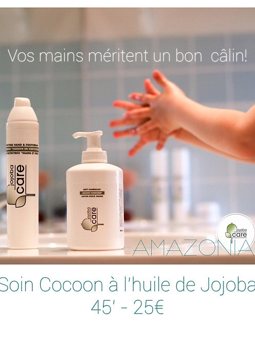 Soin COCOON des MAINS  à l'huile de Jojoba