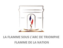 Flamme sous l'Arc de Triomphe