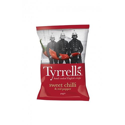 Tyrrell's chips - Piment doux et poivron rouge 40gr