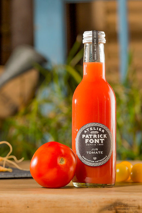 Pur jus tomate rouge
