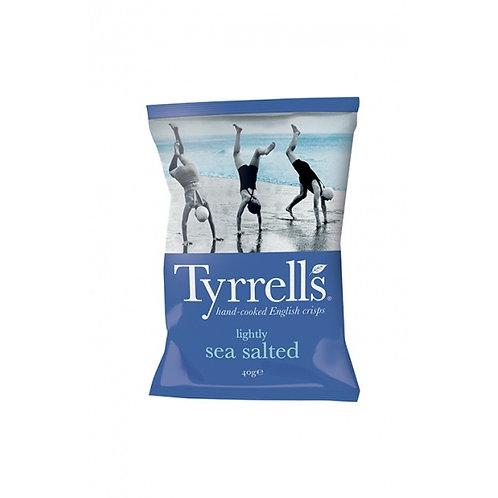 Tyrrell's chips - Sel de mer 40gr