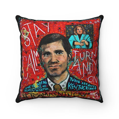 Stay Calm Andy Is On - Pillow Cover (PRE-ORDER)