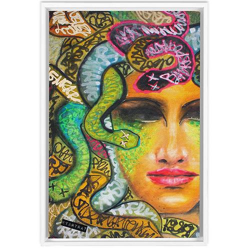Medusa - framed canvas print (PRE-ORDER)