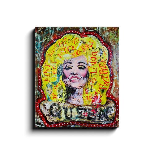 QUEEN - canvas print (PRE-ORDER)