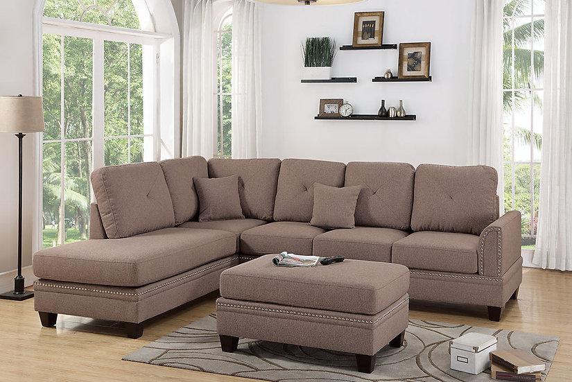 2-Pcs Sectional Sofa | F6511