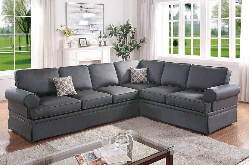 2-PCS Sectional Sofa Set - F6420