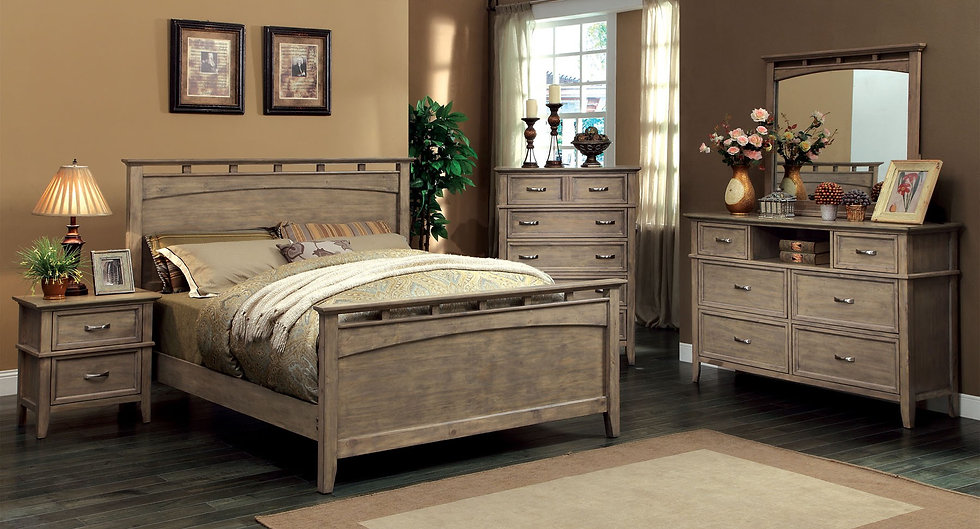 LOXLEY Bed Frame ( CM7351H )