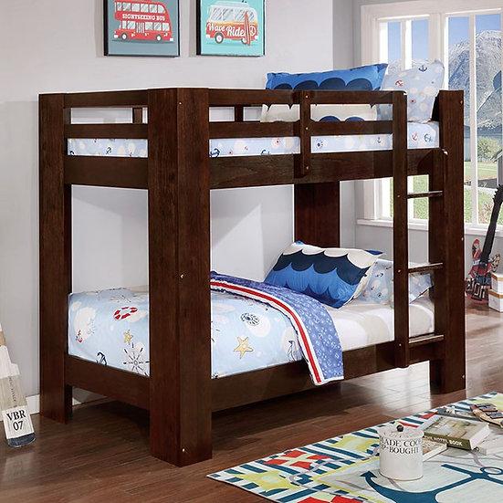 SUZIE TWIN/TWIN BUNK BED   FOA-BK972BK
