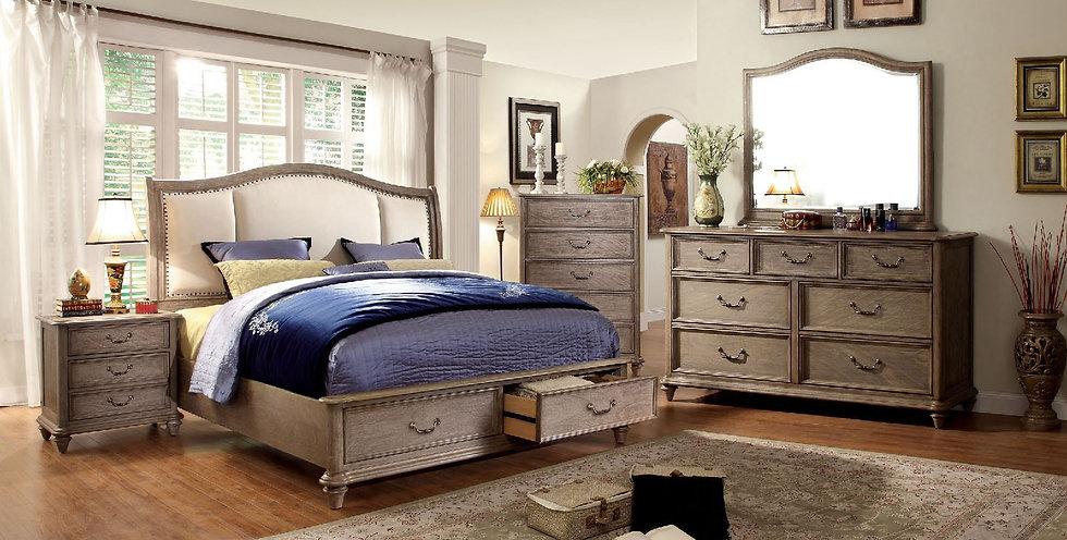 BELGRADE I Bed Frame ( CM7614 )