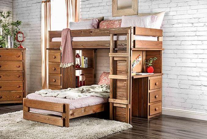 BECKFORD TWIN/TWIN LOFT BED     AM-BK600