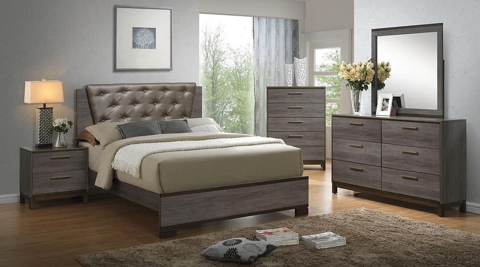 MANVEL Bed Frame ( CM7867 )