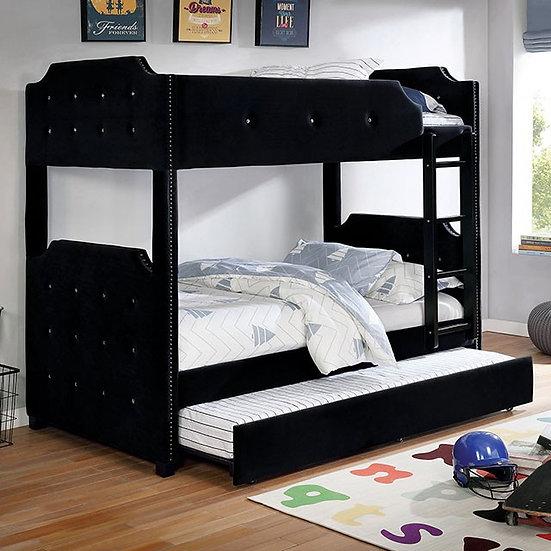 JOMEI TWIN/TWIN BUNK BED | CM-BK964BK-TT
