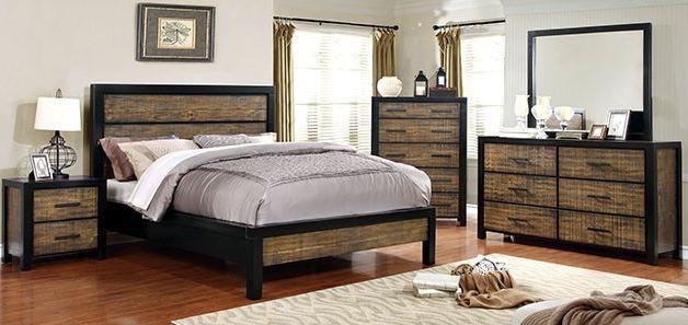 HAMBERG Bed Frame ( CM7693 )