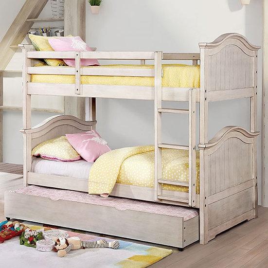 HERMINE TWIN/TWIN BUNK BED | CM-BK635