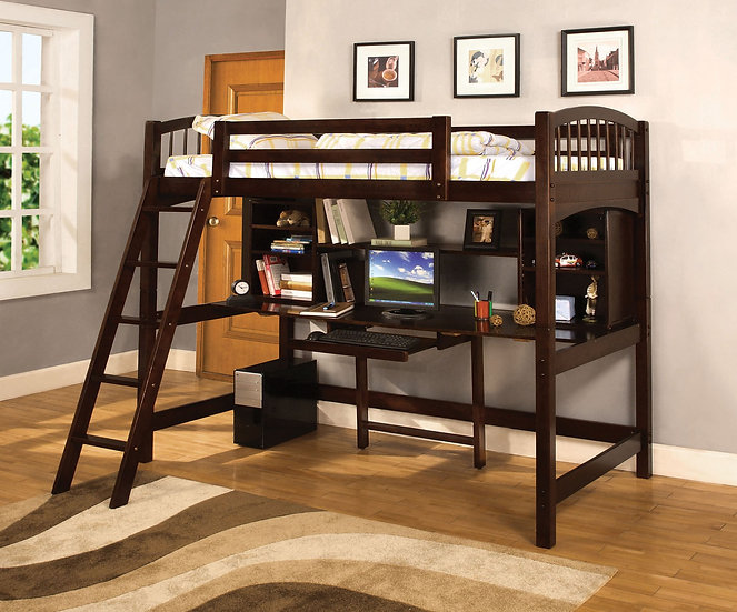DAKOTA RIDGE TWIN BED/WORKSTATION     CM-BK263
