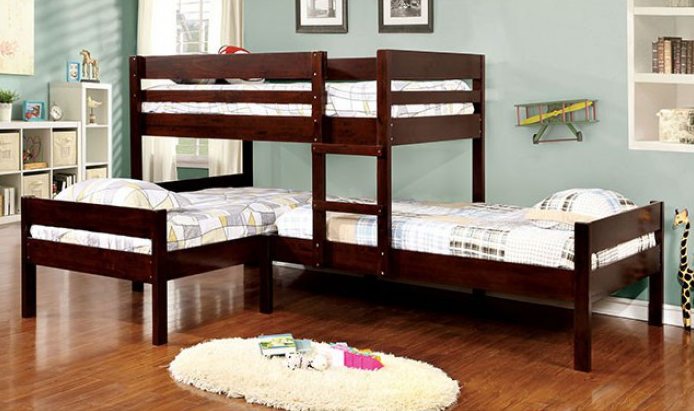 RANFORD TWIN/TWIN/TWIN BUNK BED | CM-BK626