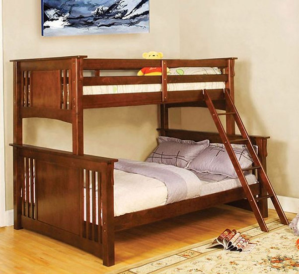 SPRING CREEK TWIN/FULL BUNK BED | CM-BK602F
